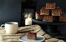 Pischinger - domowe wafelki czekoladowe