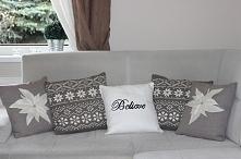 Świąteczne poduszki :)