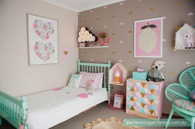7 Inspiring Kid Room Color Options For Your Little Ones: Pokój Dziecięcy Na Dom