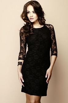 Gotowi na Andrzejki? Kreacje przygotowane? Proponujemy koronkową sukienkę Nadie z odkrytymi plecami - Nife w sklepie Olive.pl