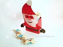 Mikołaj na słodycze - poradnik jak zrobić na blogu, kliknij w zdjęcie i zobacz.