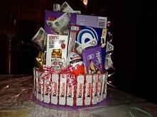 Tort, zamówienie Pani Natalii (tył) zainteresowani aniaes20@gmail.com