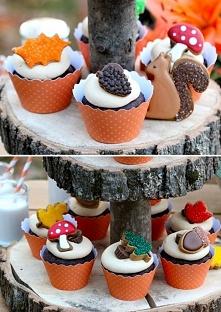 jesienne muffinki :)