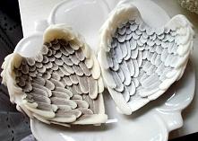 mydło w kształcie anielskich skrzydeł