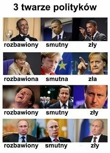 3 twarze polityków...