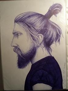 rysunek długopisem