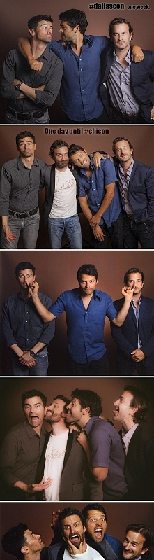 Matt, Misha, Richard i Rob