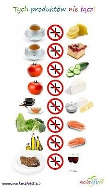 8 produktów których NIGDY NIE ŁĄCZYMY w zdrowej diecie ~ Dietetycznie Siostro! Ostatnio na facebooku wymieniliśmy się informacjami dotyczącymi jedzenia ziemniaków na diecie a sz...