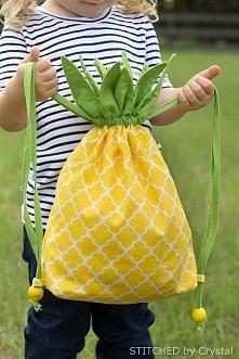 ananasowy worek. Instrukcja po kliknięciu w zdjęcie