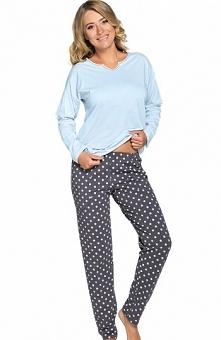 Italian Fashion Negra dł.r. dł.sp. piżama Komfortowa piżama damska Negra, jed...