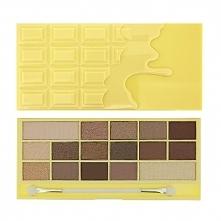 Paleta zawiera 16 cieni do powiek  w ciepłych czekoladowych i beżowych odcien...