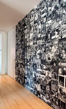 ścianka ze zdjęć