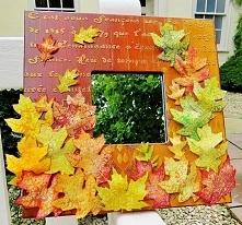 jesienna ramka