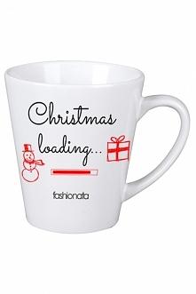 Kubek z nadrukiem Christmas loading --> fashionata.pl model Christmas