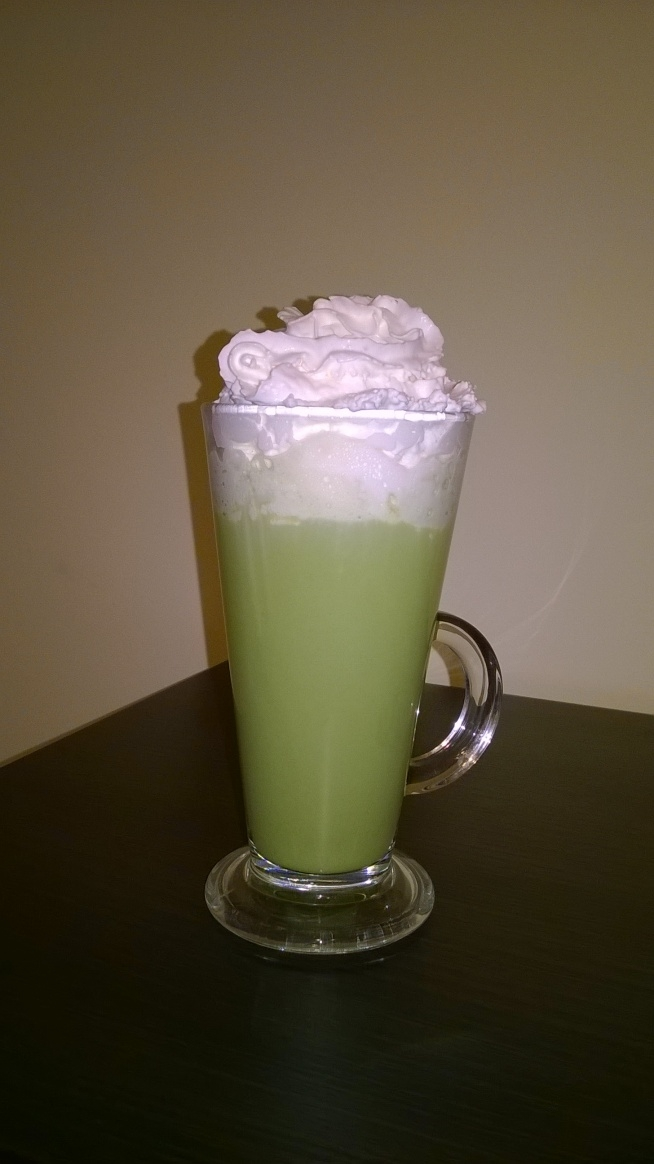 Ice Green Tea Latte <3