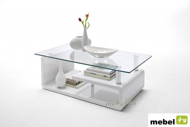 Wszystkie nowe Stolik kawowy EVELIN , biały lakier + szkło. Więcej po kliknięc GO38