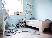 Tipi namiot do pokoju dziecięcego w gwiazdki
