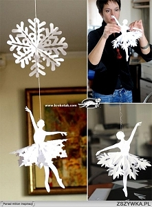 śnieżynkowa baletnica