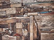 mozaika z drewna