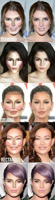 modelowanie twarzy :)
