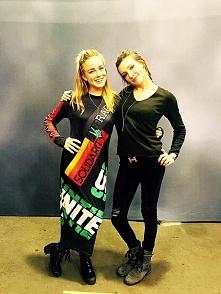 Caity Lotz & Katie Cassidy