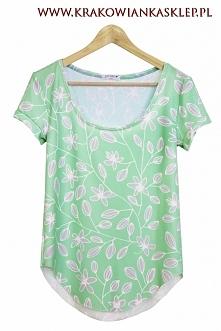 """koszulka """"floral"""" krakowianka sklep"""
