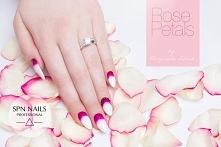 Delikatne jak płatki róż  Nails by Gosia, Beautica, SPN Team
