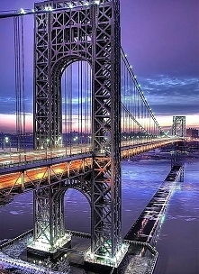 Manhatten Bridge, New York ...