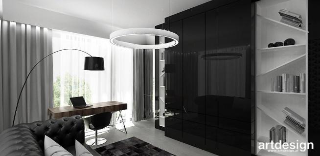 LOOK #44 | Wnętrza apartamentu - nowoczesna aranżacja gabinetu