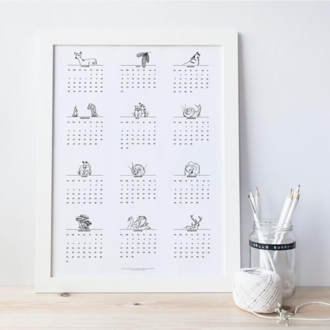 Kalendarz  2016 plakat - A3