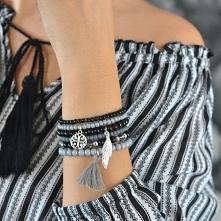 Zestaw szaro-czarny, kliknij w zdjęcie :)