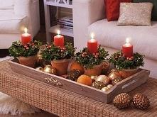coraz bliżej święta, coraz bliżej święta :) oto świetny pomysł na stroik świąteczny