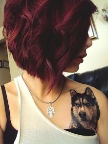 wlosy + tatuaz...