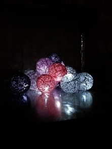 cotton balls light  wiadomość na priv