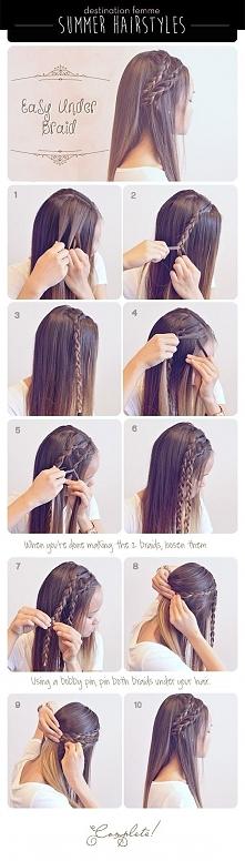 Najmodniejsze fryzury krok po kroku, wypróbuj!