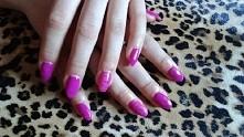 manicure hybrydowy w moim wykonaniu ;)
