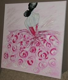 Tancerka, obraz na płótnie ...