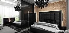LOOK #44 | Wnętrza apartamentu - elegancka sypialnia