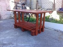 Stół z palet :)