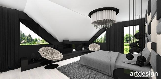 Nowoczesna Sypialnia Z Garderobą New Looks Wnętrza Domu