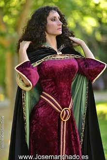 Mother Gothel cosplay