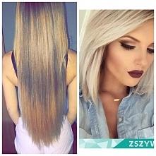 #hair #blonde jak dojść do takiego blondu? koncówki to sa odrosty, kiedyś miałam włosy farbowane na całej długości, pózniej miałam farbowane metoda na 'kitka' mam po p...
