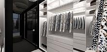 garderoba | LOOK #69 | luksusowe wnętrze apartamentu