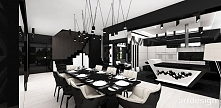 Jadalnia i kuchnia | NEW LOOKS | Wnętrza domu