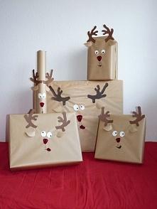 Jak można oryginalnie, prosto i tanio zapakować świąteczne prezenty? :)