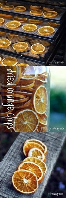 A Wy suszycie pomarańcze?
