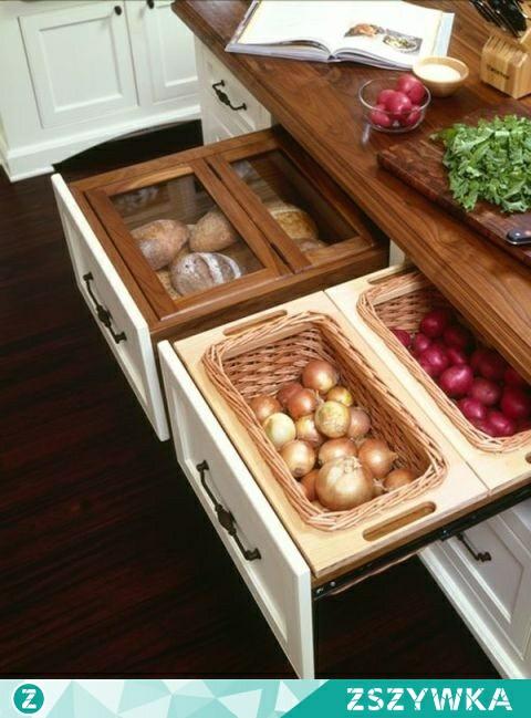 Pomysł Na Przechowywanie Warzyw Na Kuchnia Zszywkapl