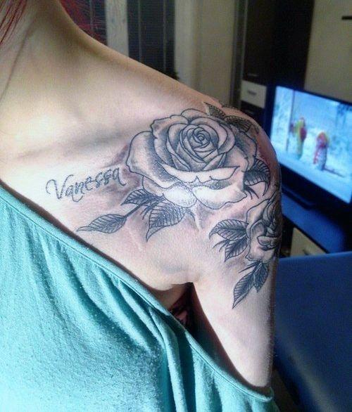 Woman Rose Arm Tattoo Na Tatuaże Zszywkapl