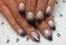 Szalenie modne cieniowanie :-)  Nails by Justyna, Beautica, SPN Nails Team