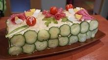 Tort sałatkowy-idealna prze...